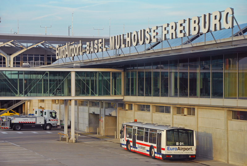 BSL Airport is called EuroAirport as it is located between different countries.